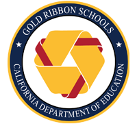 gold ribbon logo