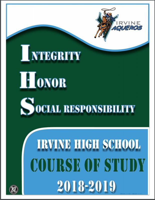 Course of Studies 2018