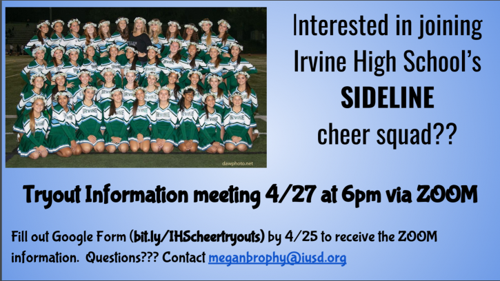 Cheer Tryouts 2020