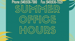IHS Summer Office Hours