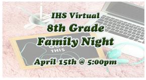 8th Grade Family Night