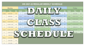 Today's Schedule
