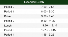 extended lunch