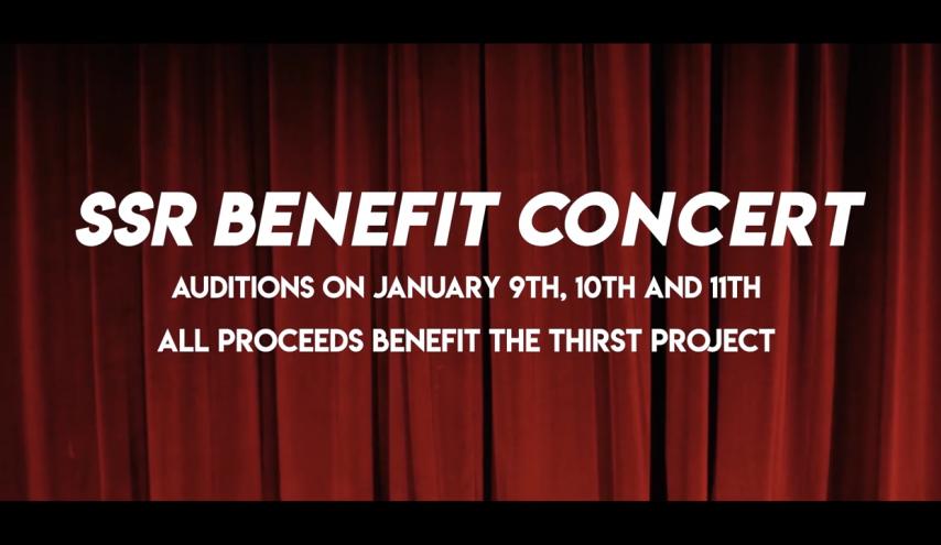 SSR Benefit Concert Picture
