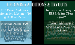Dance and Cheer Auditions/Tryous