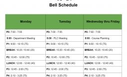 EDL April Schedule
