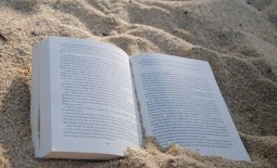 Book in the Sand