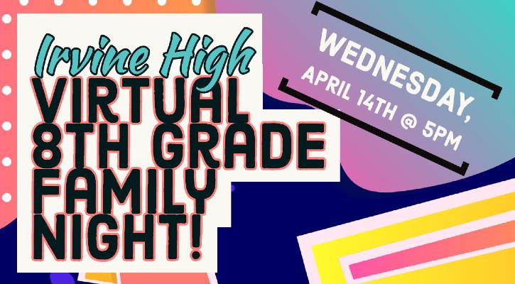 8th Grade Family Night 2021
