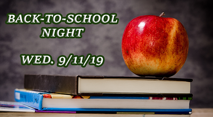 Back to School Night 9/11