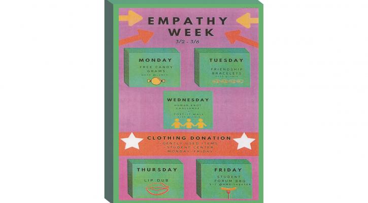 Empathy week flyer